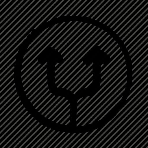 arrows, divorce, family, justice, law, legislation icon