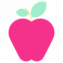 apple, apple icon, eat, home, house, living, room icon