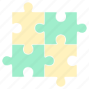 home, house, living, puzzle, puzzle icon, room icon