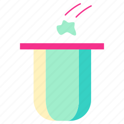 garbage, home, house, hrow, living, room icon