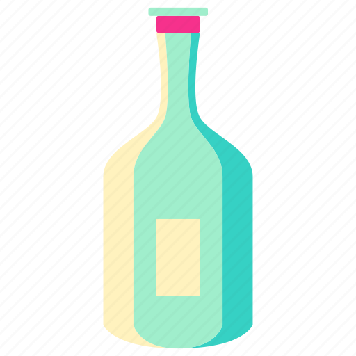 bottle, drink, home, house, living, room icon