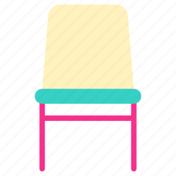chair, home, house, living, property, room icon