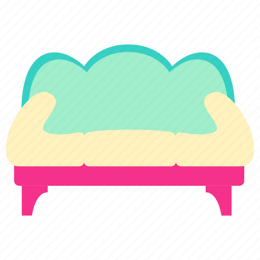couch, couch icon, family, home, interior, living, room icon