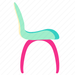 chair, chair icon, family, home, interior, living, room icon