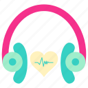 earphone, family, home, living, music, property, room icon