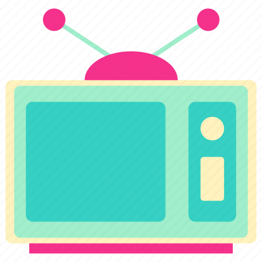 family, home, house, living, room, television icon
