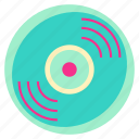 caset, disk, family, home, living, music, room icon
