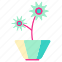 family, home, living, plants, pot, room icon