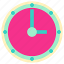 clock, clock icon, family, home, interior, living, room icon