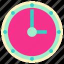 clock, clock icon, family, home, interior, living, room icon