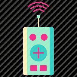 family, home, living, remote, remote icon, room, signal icon