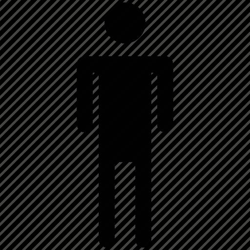 boy, familiar, male, man, person, silhouette icon