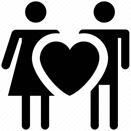 couple, couple love, heart, lovers, marriage, romantic, valentine icon