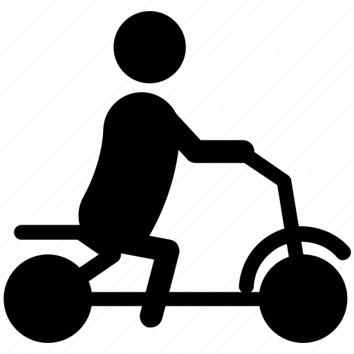 baby playing, baby riding, baby silhouette, bicycle riding, sportive icon