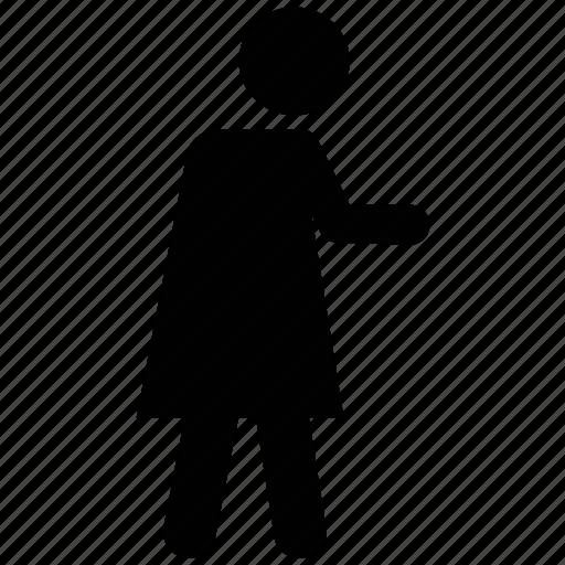 female, running, walking, woman icon