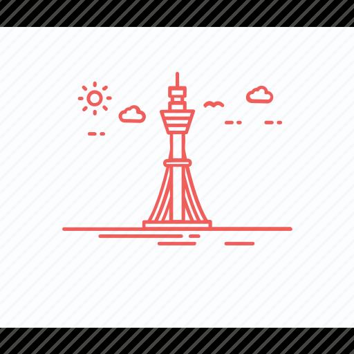 australian landmark, australian monument, sydney landmark, sydney tower, tower eye icon