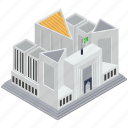 city hall, court building, courthouse, courtroom, government building, supreme court of pakistan icon