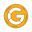 google, logo, orange icon