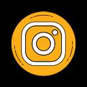 instagramm, logo, media, multimedia, orange, social icon
