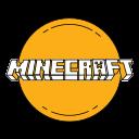 game, gaming, logo, minecaft, orange icon