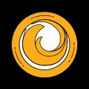 browser, firefox, internet, logo, network, orange, website icon