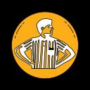 footlokcer, logo, orange, shoe, shoes icon