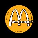 brand, fastfood, logo, mcdo, mcdonalds, orange icon