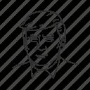 avatar, donald trump, government, human, man, politician, president icon
