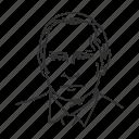 avatar, human, man, old man, politician, president, vladimir putin icon