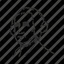 avatar, george washington, human, man, old man, politician, president icon