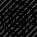 bluray, compact, disc, multimedia, music icon