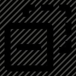 copy, duplicate, remove icon