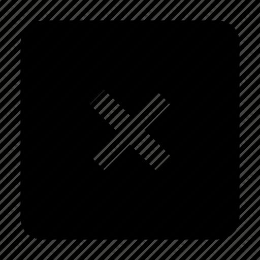 cross, delete, multiply, remove icon