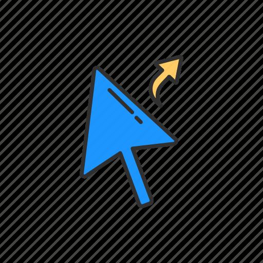 alias cursor, indicator, navigate, pointer icon