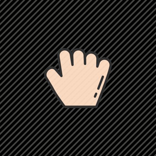 fist, grab cursor, hand, pointer icon