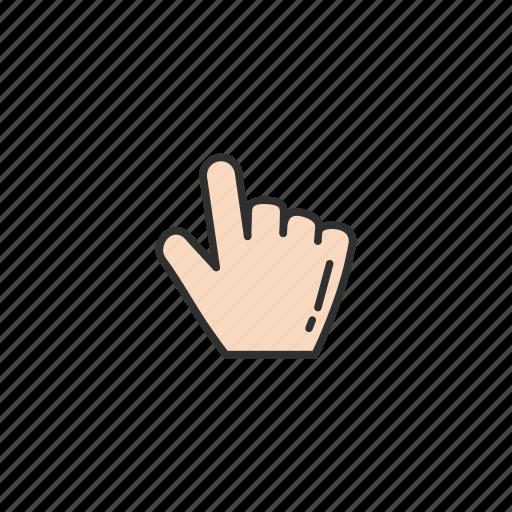 grab cursor, hand, navigator, pointer icon