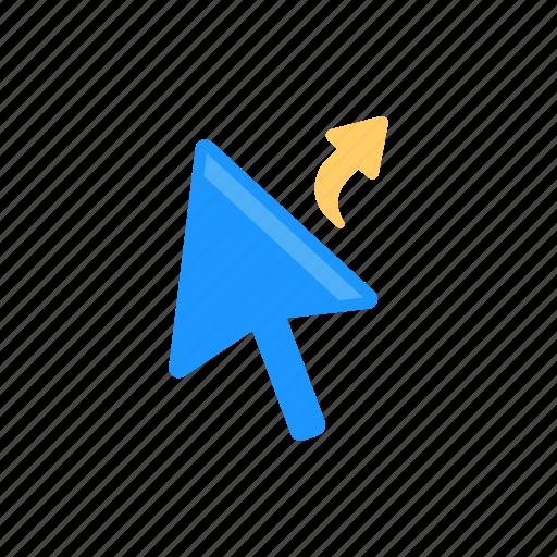 arrows, mouse cursor, navigate, pointer icon