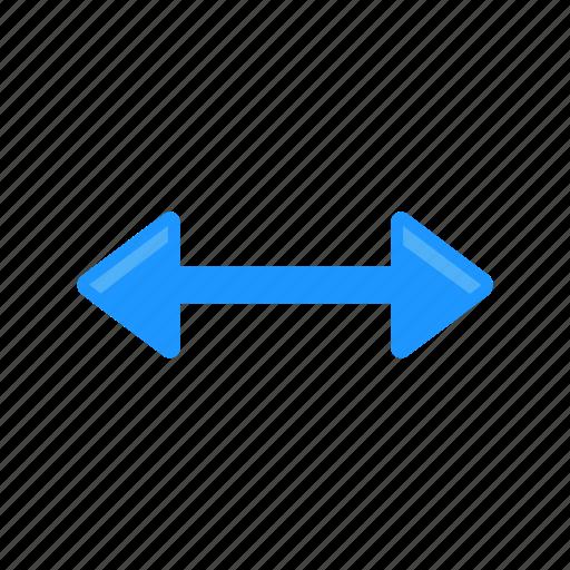 arrow, navigation, pointer, resize cursor icon