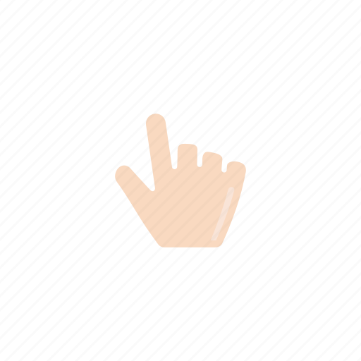 fist, hand, mouse cursor, pointer icon