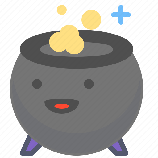 boil, food, pot, witch icon