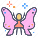butterfly, character, fairy, transform