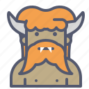 character, faun, horns, narnia icon