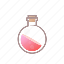 alchemy, bottle, drink, fantasy, item, potion icon
