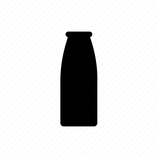bottle, dairy, food, meal, milk icon