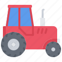farm, farmer, garden, gardener, tractor icon