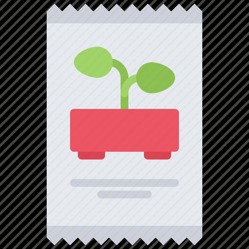 farm, farmer, garden, gardener, package, seed, seeds icon
