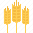 farm, farmer, garden, gardener, spike, wheat icon