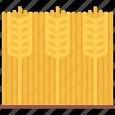 farm, farmer, field, garden, gardener, spike, wheat icon