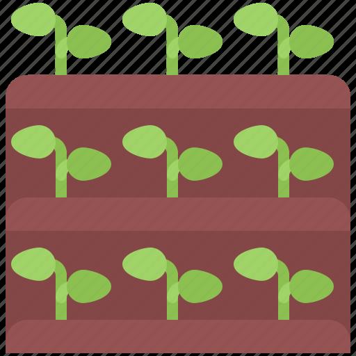 earth, farm, farmer, garden, gardener, plant, sprout icon
