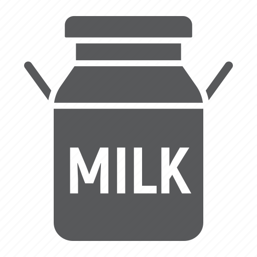 agriculture, beverage, can, container, drink, farming, milk icon